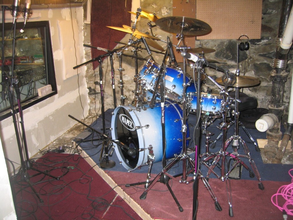010 Drums with Mics 3