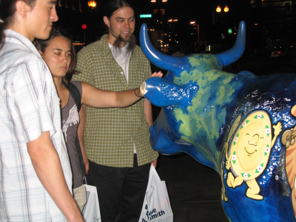 241 Petting the Cow