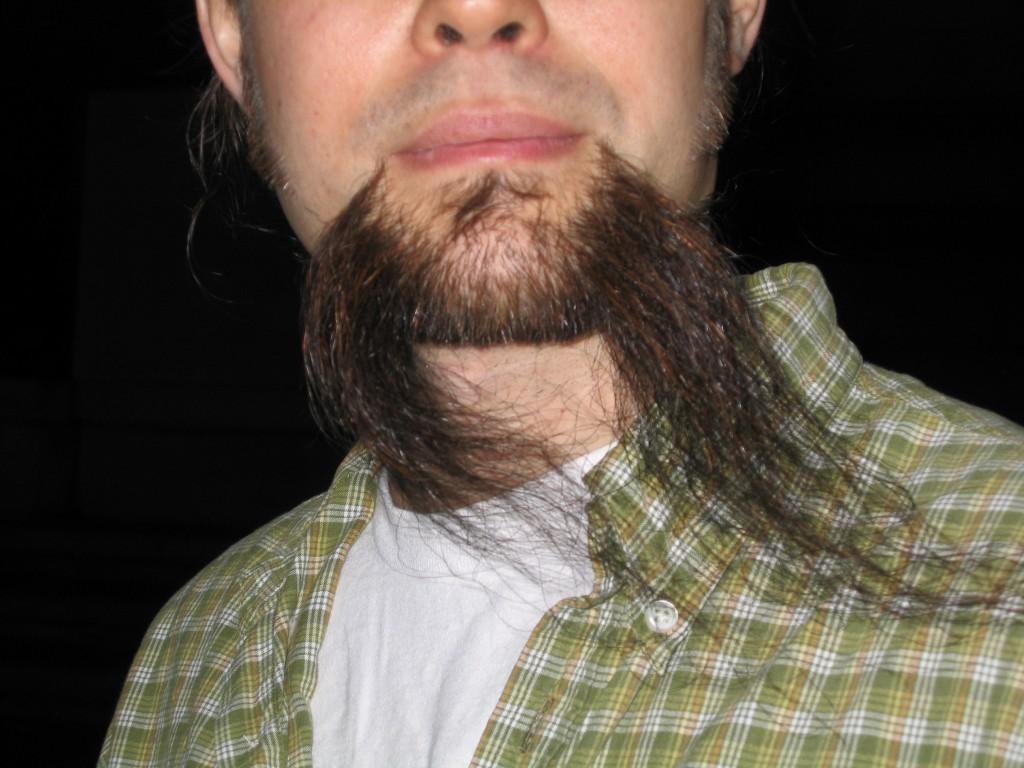 243 Beard in the Wind