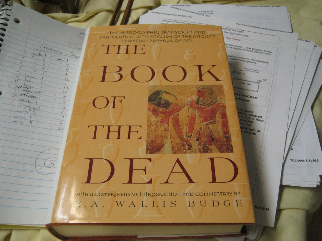 the book of dead