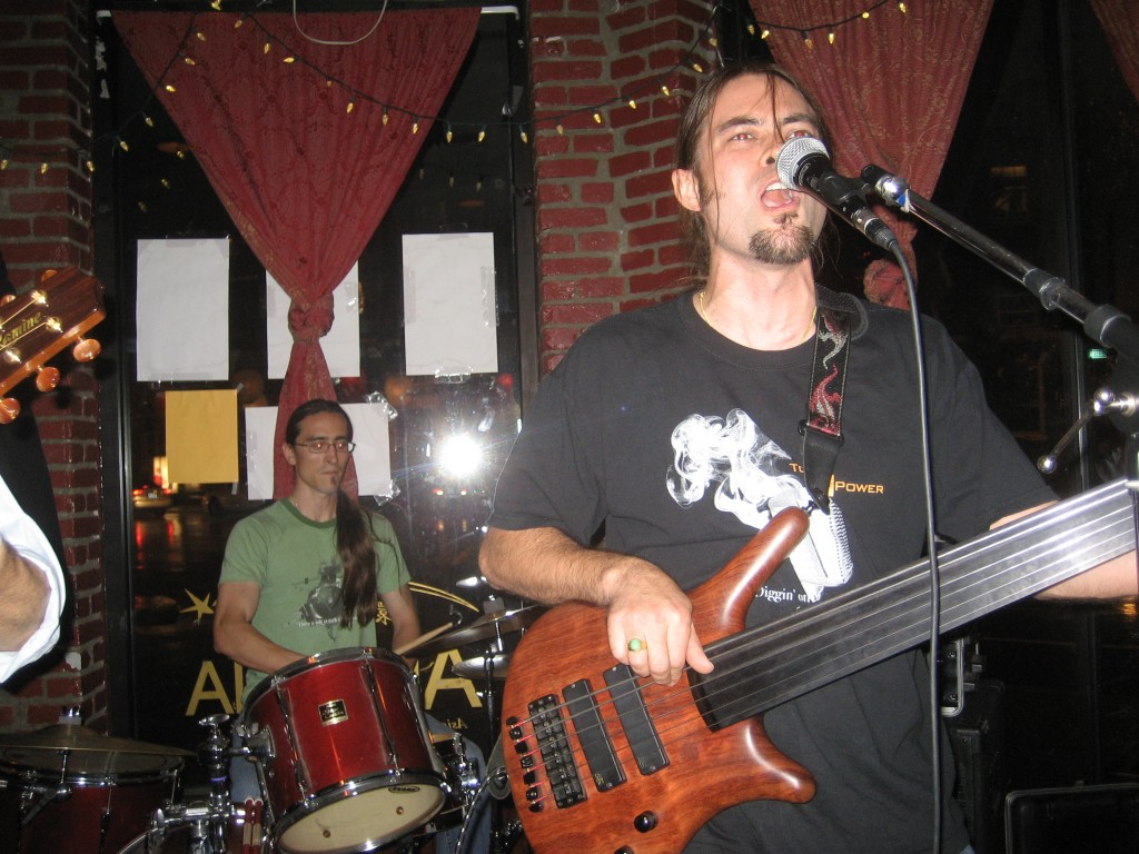 Matt Chuck US gig 1
