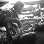 More fretless soloing US session